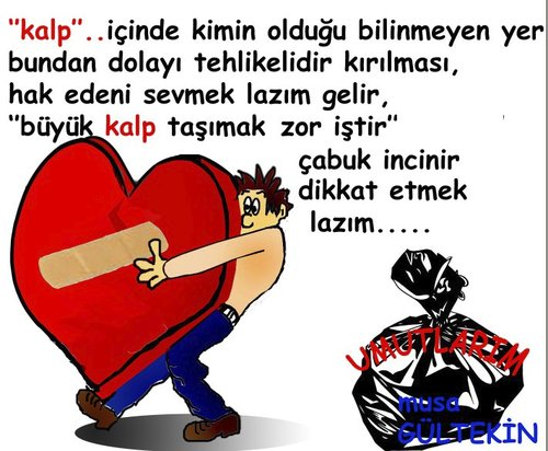 Cartoon: my heart kalbim (medium) by musa gültekin tagged tasimak,yarabandi,umutlarim,kalp