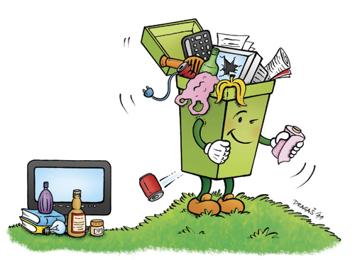 Recycling By dragas | Nature Cartoon | TOONPOOL