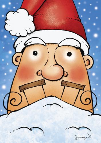 Santa claus by dragas religion cartoon toonpool