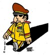 Cartoon: Keine Chance (small) by okoksal tagged koeksal