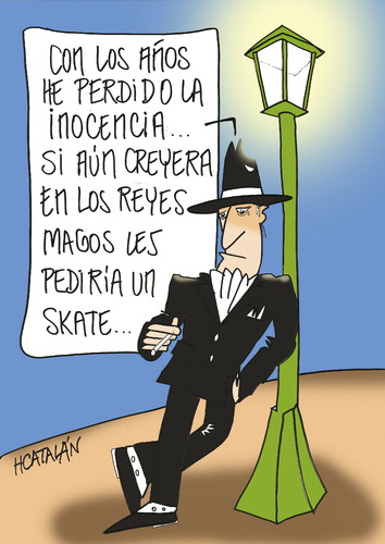 Cartoon: REYES MAGOS (medium) by HCATALAN tagged tango