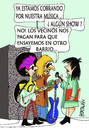 Cartoon: RUIDO (small) by HCATALAN tagged rockeros,rock,musica,ruido,vecinos