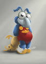 Cartoon: GONZO - Muppets Babies (small) by ilustraguga tagged digital,illustration,muppets,babies
