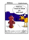 Cartoon: pee mail (small) by Digitalpigg tagged pee,dog,hydrant,email,pet