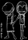 Cartoon: goresan curhat (small) by areztoon tagged love,broken,heart,sad,lonely
