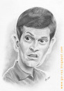 Cartoon: Tito Vilanova caricature (small) by areztoon tagged karikatur caricature tito vilanova fcb barcelona barca pencils