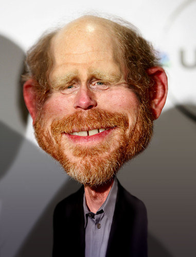 Ron Howard By RodneyPike | Famous People Cartoon | TOONPOOL