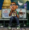 Cartoon: A Parody (small) by RodneyPike tagged barack omama president caricature illustration photoshop photo manipulation