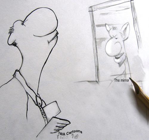 Der spiegel by iwacartoons philosophy cartoon toonpool for Spiegel cartoon
