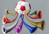 Cartoon: Vuvuzela (small) by luka tagged vuvu