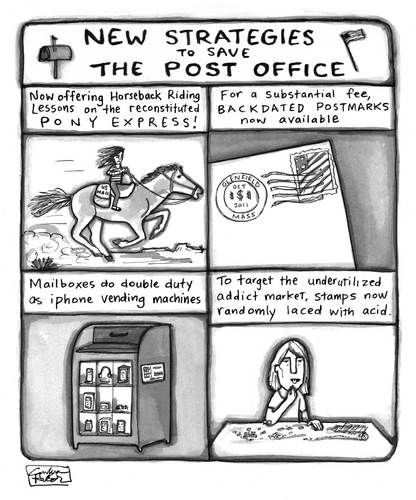 Save The Us Postal Service By A Zillion Dollars Comics Politics