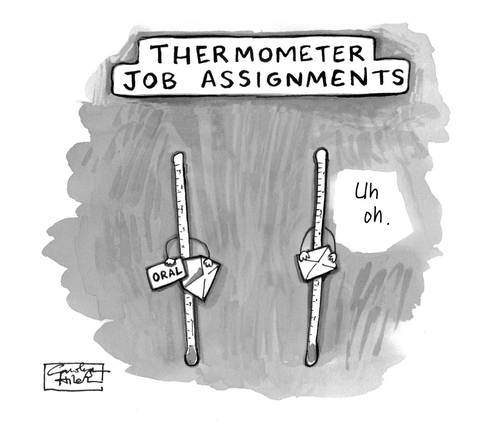 Cartoon Pic of Thermometer Cartoon Thermometer Job