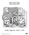 Cartoon: The Meh Lab (small) by a zillion dollars comics tagged society,culture,drugs