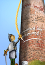 Cartoon: Rapunzel (small) by KryCha tagged rapunzel,märchen,grimm,haarig,hairy