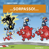 Cartoon: F1 2011 (small) by Riko cartoons tagged riko cartoon f1 inghilterra 2011