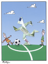 Cartoon: Football e ...money! (small) by Riko cartoons tagged riko,cartoon,football,dreams