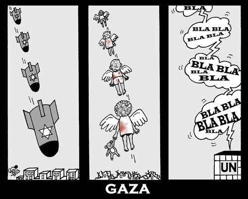 صور كاريكاتير غزة
