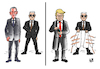 Cartoon: SECURITY... (small) by Vejo tagged trump,obama,fbi,safety,security