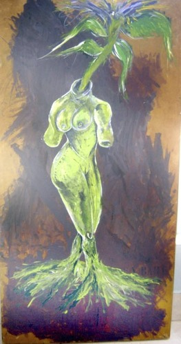 Cartoon: VENUS OF GAIA (medium) by pax tagged venus,world,ambient,ecologist,peace,woman