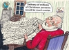 Cartoon: Christmas Wishes (small) by Alan tagged santa,letters,christmas,wishes,world,peace,weltfrieden,frieden,welt,pace,paz,mundial,paix,mondiale,mir,världsfred,weihnachtsbriefe
