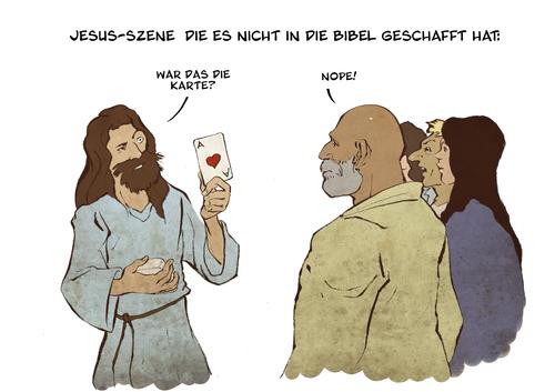 "toonpool.com Toon Agent | ""jesus is magic!"" von Arne S Reismueller"