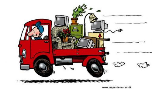Moving Truck: Moving Truck Cartoon