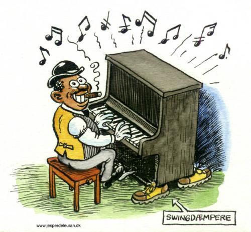 Cartoon swingders medium by deleuran tagged swing jazz music