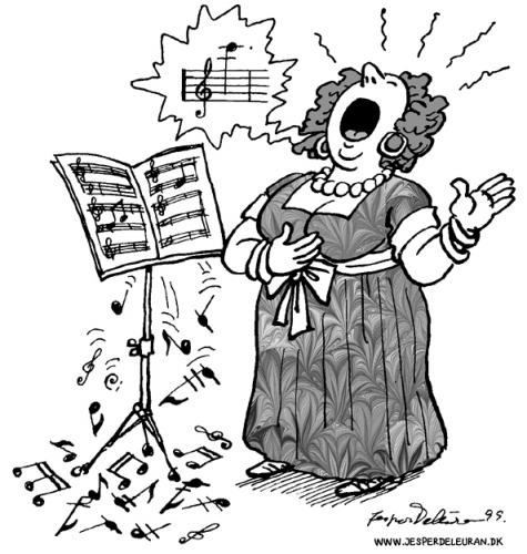 Singer medium by deleuran tagged opera notes singing songs sheet