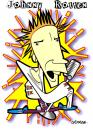 Cartoon: John Lydon (small) by spot_on_george tagged johnny,rotten,sex,pistols,caricature