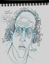 Cartoon: Caricature of Vincent Schiavella (small) by McDermott tagged caricature,vincentschiavella,actor,ghost,movie,mcdermott