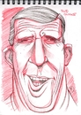Cartoon: Caricature sketch of Fred Gwynne (small) by McDermott tagged caricature,fredgwynne,munsters,car54,tv,tvland,movies,mcdermott,new,actor