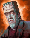Cartoon: Herman Munster (small) by McDermott tagged munsters,tv,hermanmunster,tvland,actors,mcdermott,caricature
