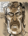Cartoon: Ted Cassidy (small) by McDermott tagged tedcassidy,lurch,munsters,tvland,butchcassidyandthesundancekid,movies,actor,mcdermott,new