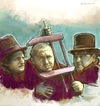 Cartoon: The 3 Stooges (small) by McDermott tagged the3stooges,comedy,tvland,moelarrycurly,mcdermott