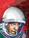 Cartoon: Tthe Reluctant Astronaut (small) by McDermott tagged reluctantastronaut,donnotts,movies,comedy,60s,actors