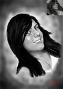 Cartoon: sketch (small) by ressamgitarist tagged drawing,portrait,photoshop