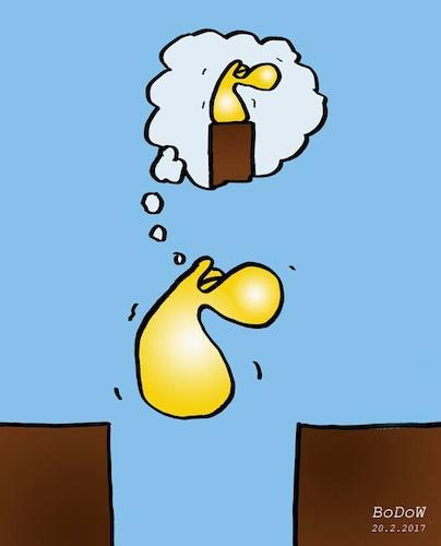 Magisches Denken By BoDoW | Philosophy Cartoon | TOONPOOL