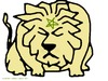 Cartoon: le lion marocain (small) by ahmed_rassam tagged cuntry2011