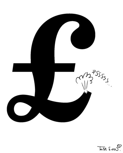 Cartoon: Pound Sterling (medium) by to1mson tagged pound,sterling,england,anglia,gb,uk,grossbritanien