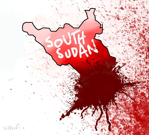 Cartoon: South Sudan (medium) by to1mson tagged south,sudan