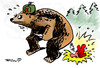 Cartoon: ... (small) by to1mson tagged ussr,bär,niedzwiedz,war,krieg,wojna