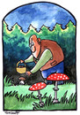 Cartoon: ... (small) by to1mson tagged mushroom,pilz,grzyb