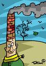 Cartoon: ... (small) by to1mson tagged herbst,jesien,autumn,nature,natura,natur,mensch,human,czlowiek