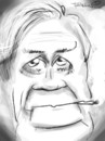 Cartoon: Helmut Schmidt (small) by to1mson tagged helmut,schmidt,politiker,kanzler,kanzlerz,chancellor,germany,niemcy,deutschland