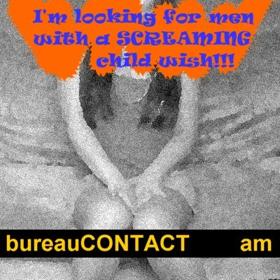 Cartoon: buCO_37 Screaming Child-wish (medium) by Age Morris tagged agemorris,internetdating,webdating,onlinedating,datelife,personals,profile,lookingforaman,manhunt,getadate,desperate,internet,romance,childwish,men