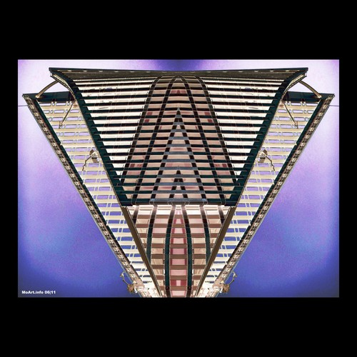 Cartoon: MoArt - The HQ (medium) by MoArt Rotterdam tagged ufo,aliens,hq,fantasy,hoofdkantoor,headquarters,scifi,moartcards,moart,rotterdam