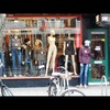 Cartoon: MH - Lady in the Window 2 (small) by MoArt Rotterdam tagged moart,rotterdam,etalage,window,sale,uitverkoop,lady,dame,nude,naked,naakt,paspop,boobs,borsten