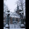 Cartoon: MH - The Gate 2 (small) by MoArt Rotterdam tagged rotterdam gate poort church kerk hillegondakerk hillegondachurch sneeuw snow