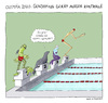 Cartoon: Gendoping (small) by Huse Fack tagged gendoping,olympia,schwimmsport,swimming