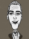 Cartoon: George Clooney (small) by Vidal tagged george,clooney